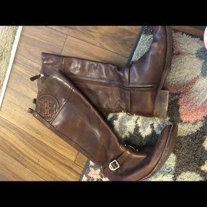 Tory Burch brown boots, size 7